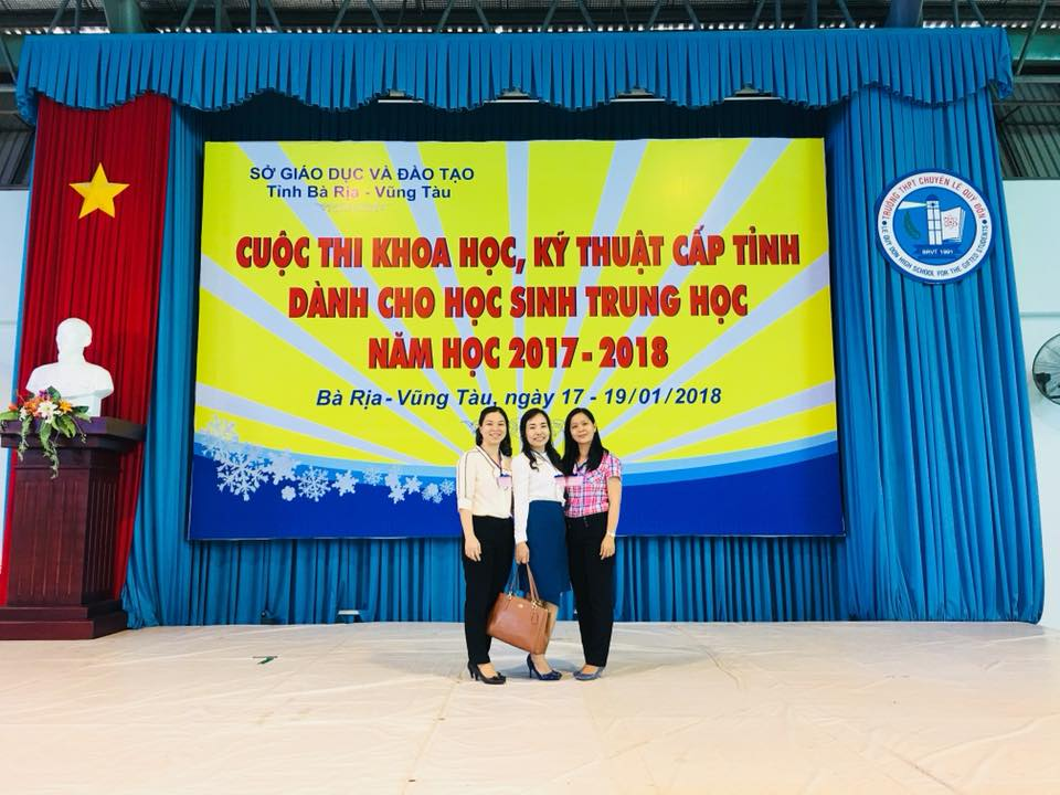 Hình ảnh dự thi NCKH cấp tỉnh năm 2017